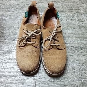 G. H. Bass & Co Lexi Suede Chunky Oxfords 6m